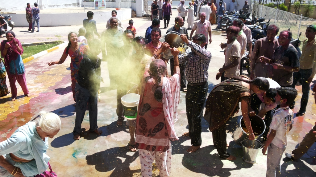 Holi celebration held on 17-3-2014