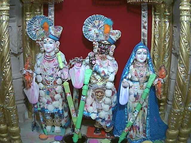 Shree Ghansyam Maharaj Shree RadhaKrushna Dev